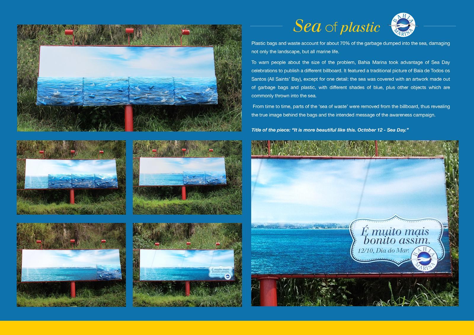 Bahia Marina Outdoor Ad -  Sea of Plastic