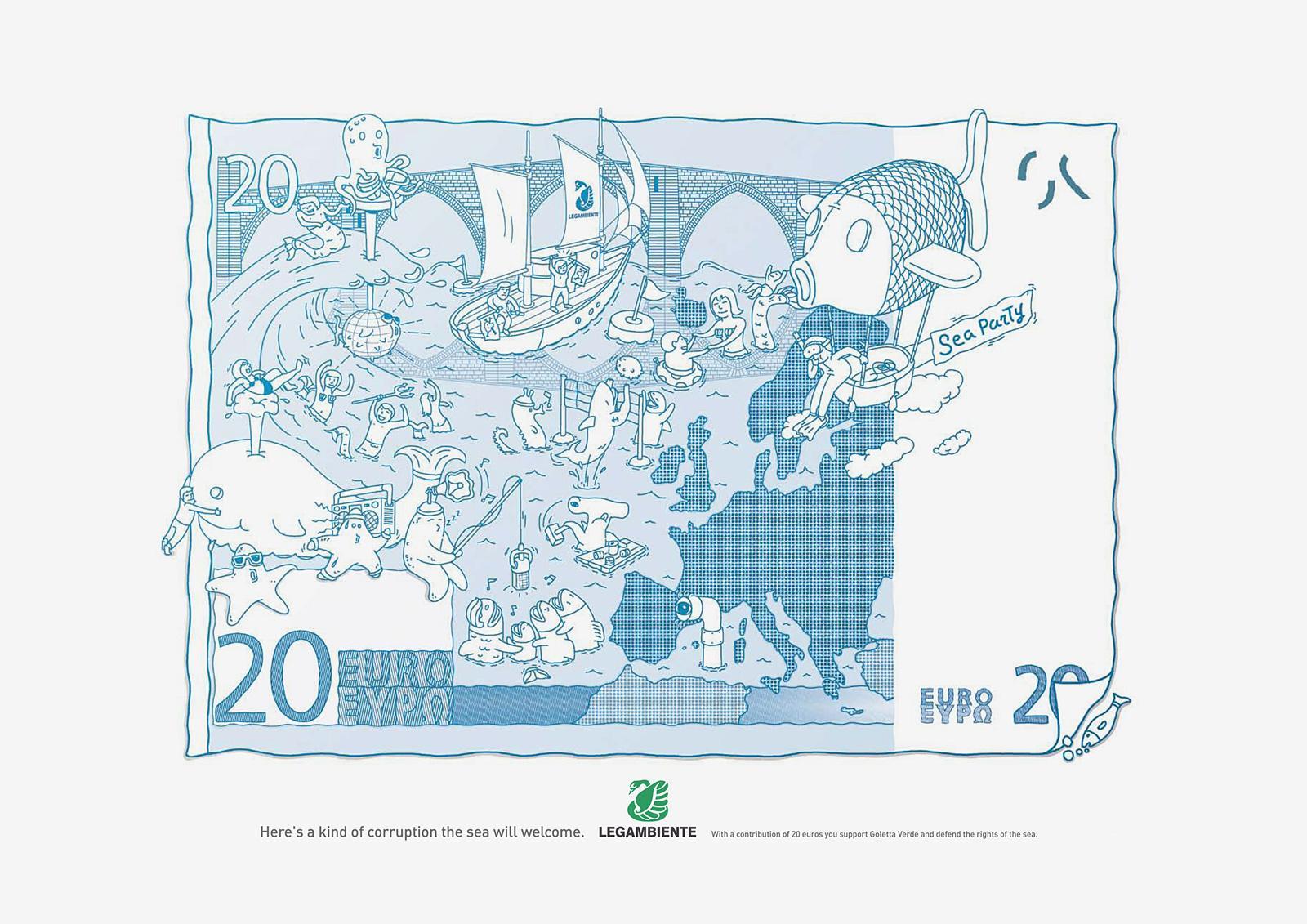 Legambiente Print Ad -  Sea World