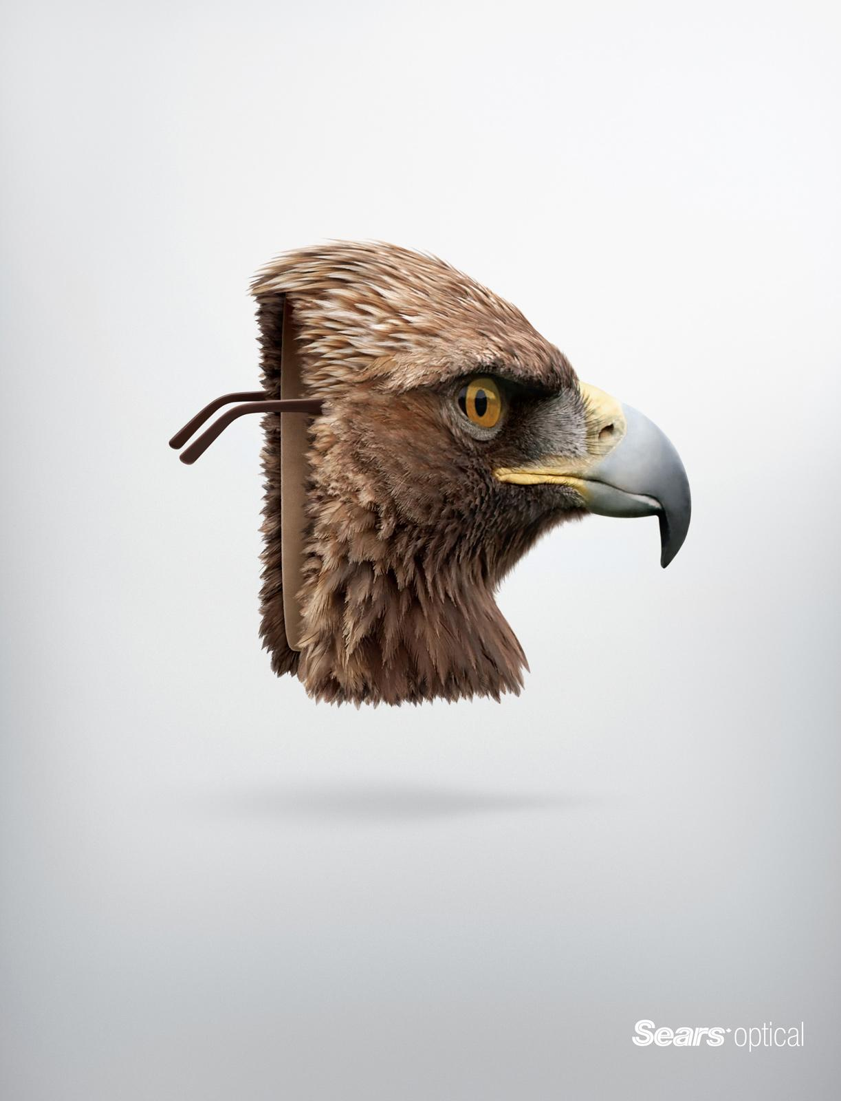 Sears Print Ad -  Eagle