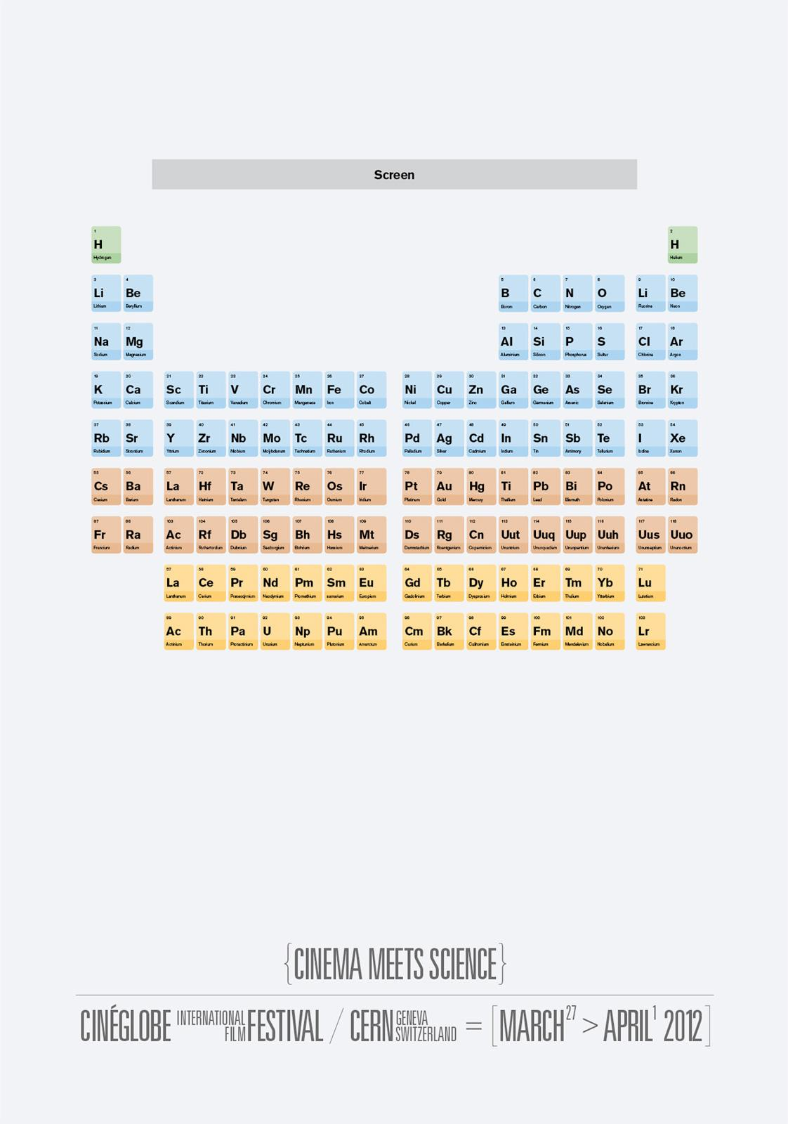 CineGlobe Print Ad -  Seating Plan