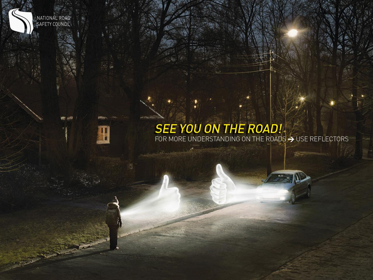The Polish National Road Safety Council Print Ad -  See you on the road, 3