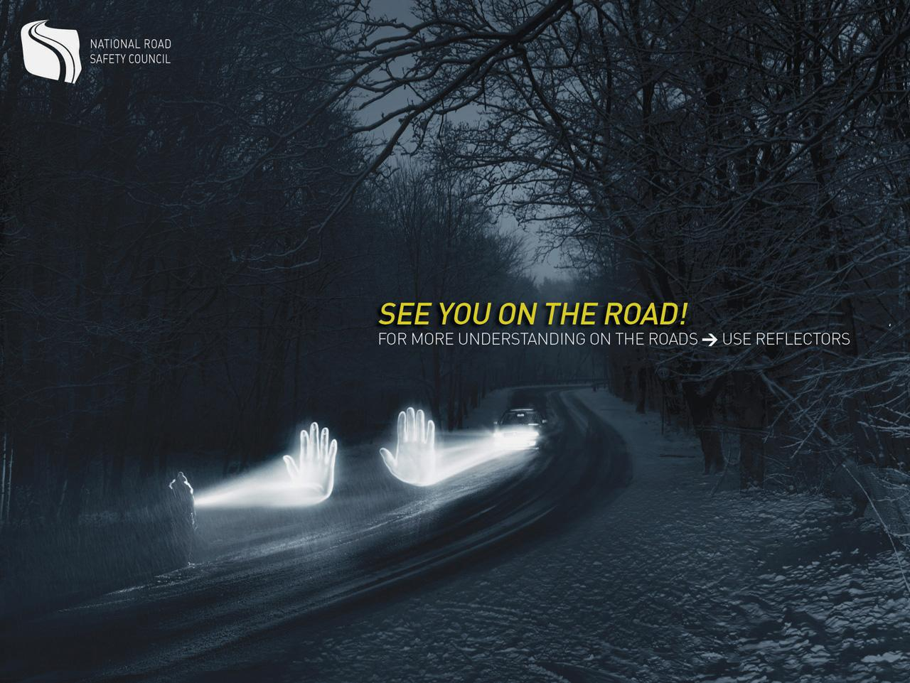 The Polish National Road Safety Council Print Ad -  See you on the road, 1