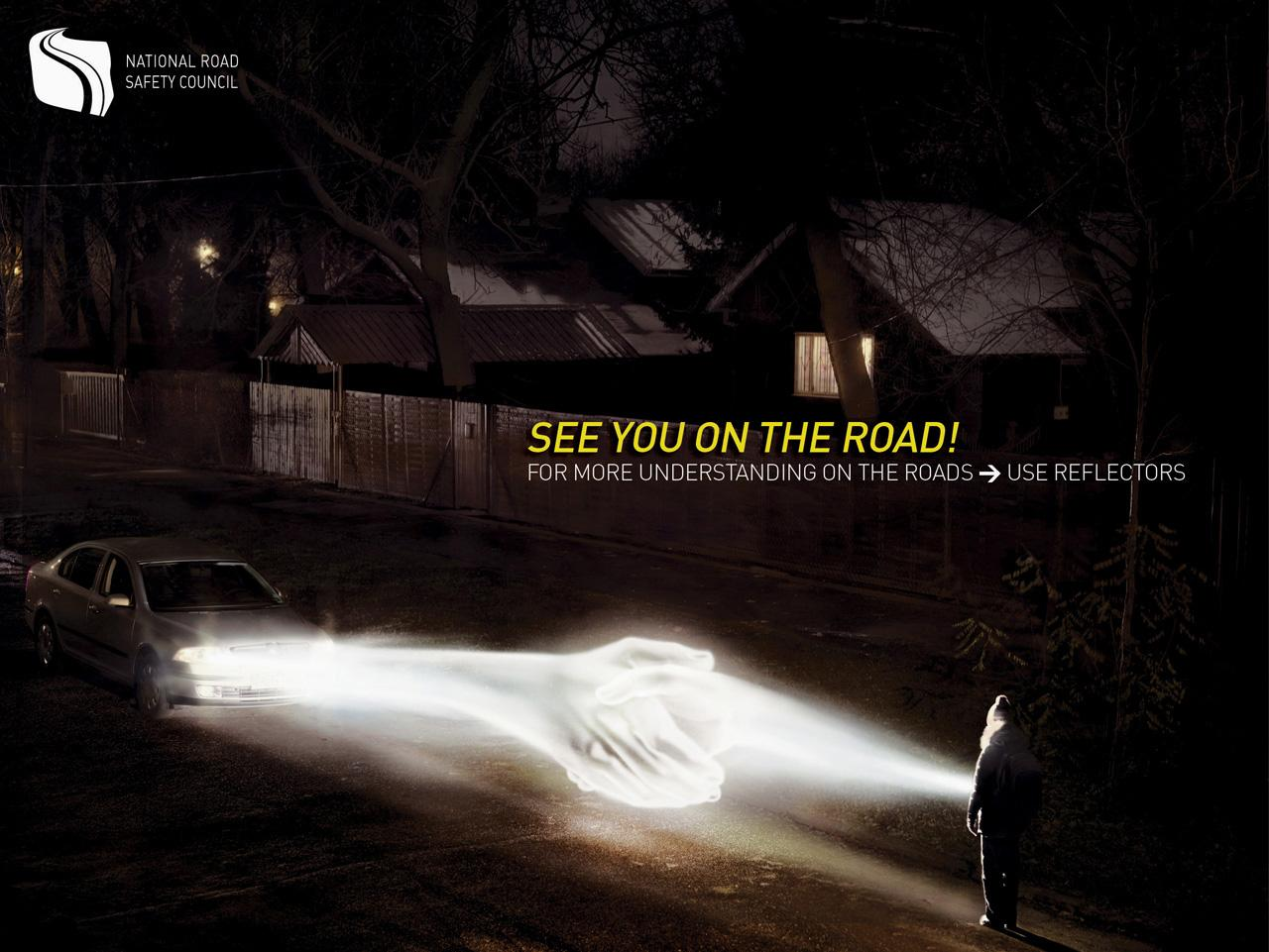 The Polish National Road Safety Council Print Ad -  See you on the road, 2