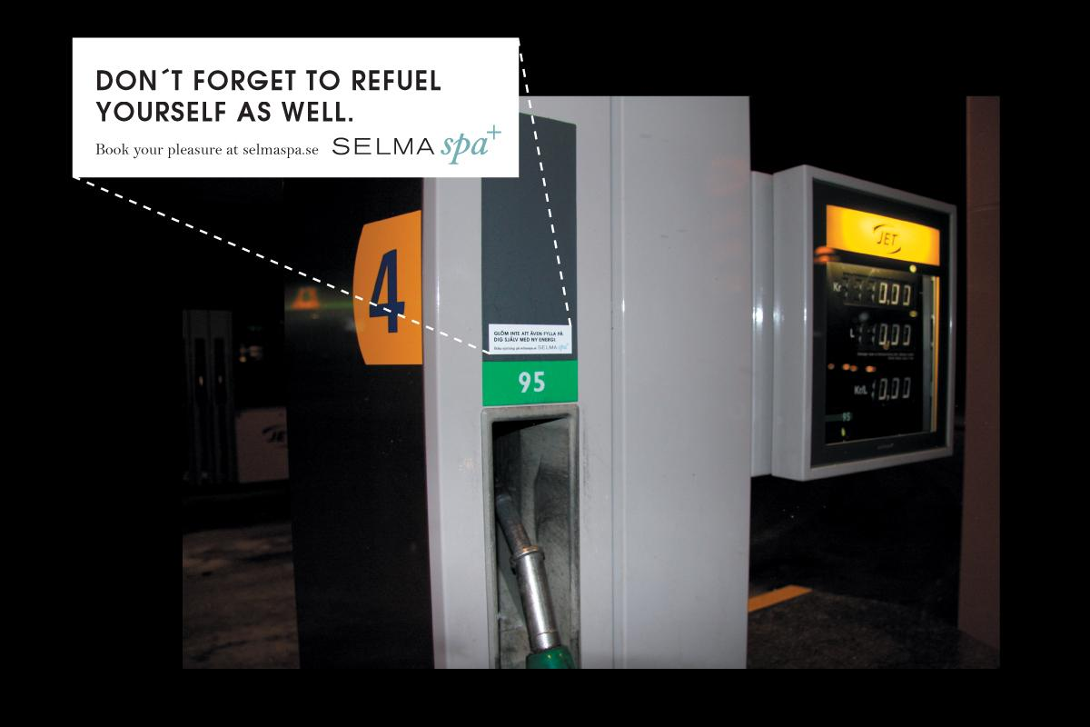 Selma Spa+ Ambient Ad -  Refuel yourself