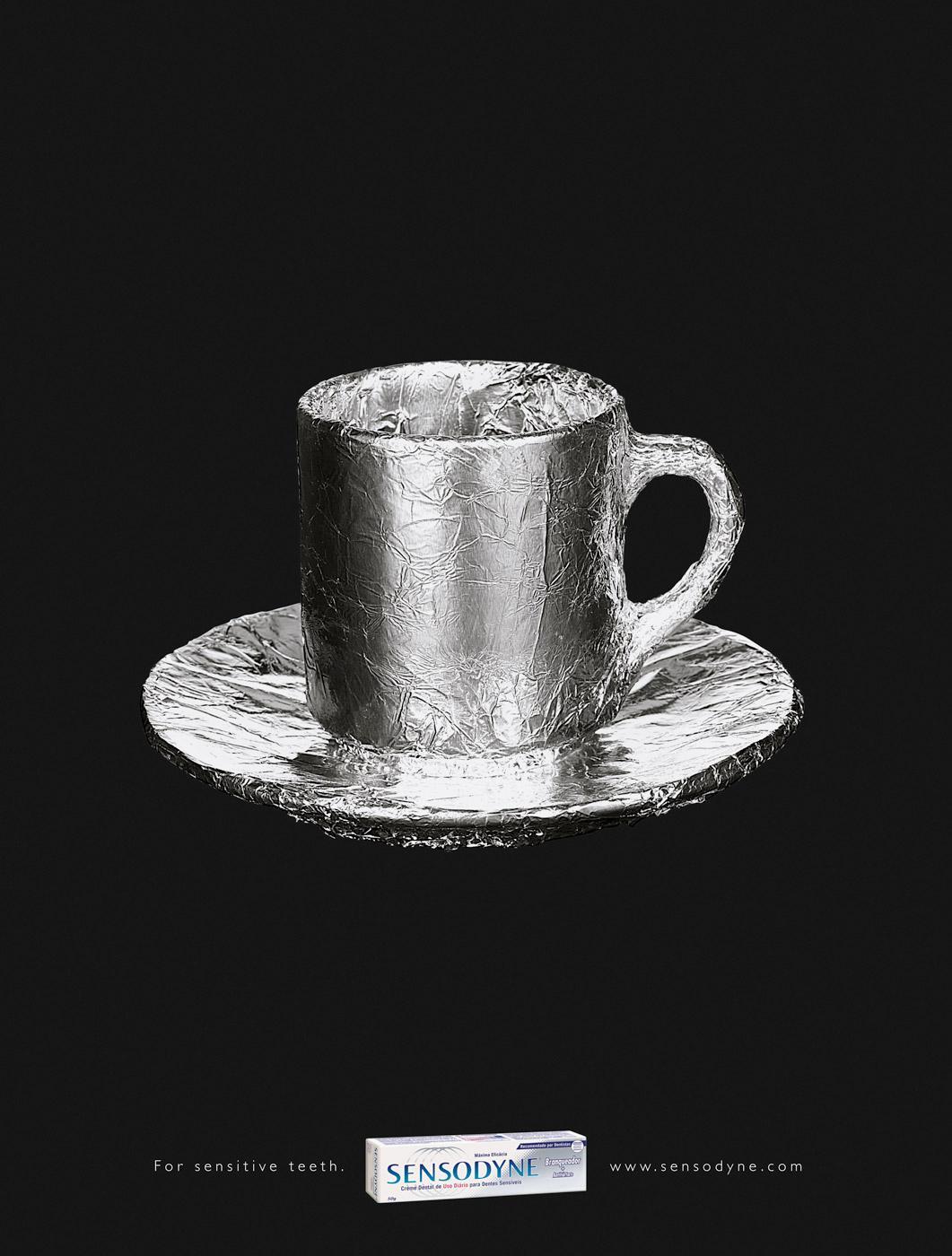 Sensodyne Print Ad -  Tea