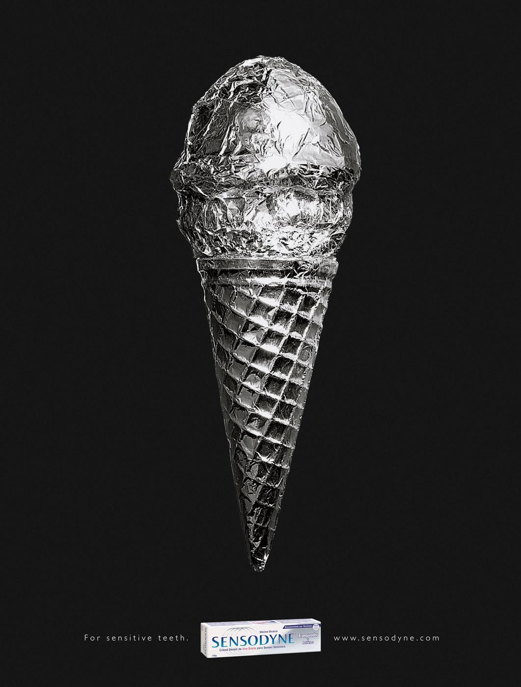 Sensodyne Print Ad -  Ice cream