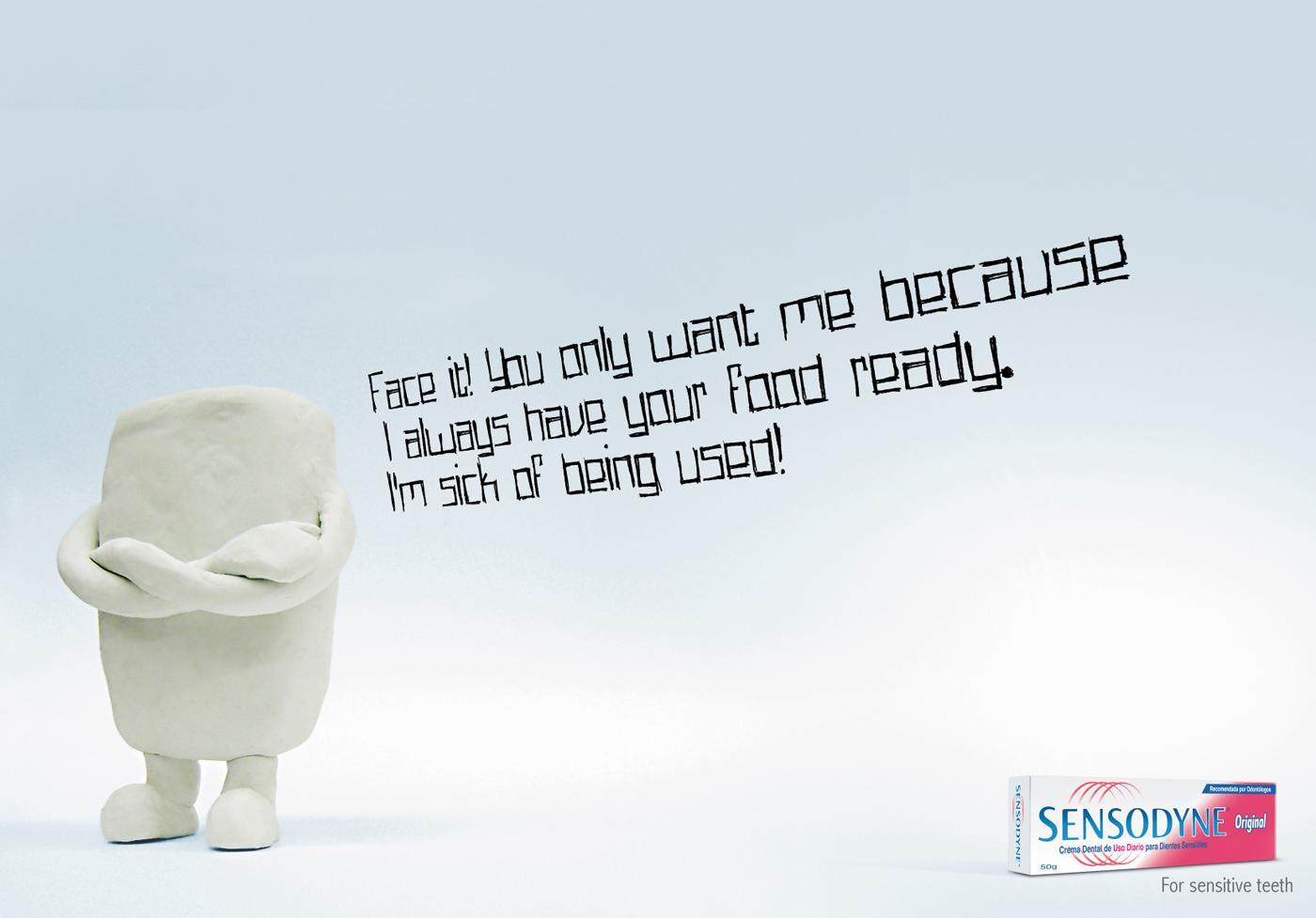 Sensodyne Print Ad -  Teeth, 1