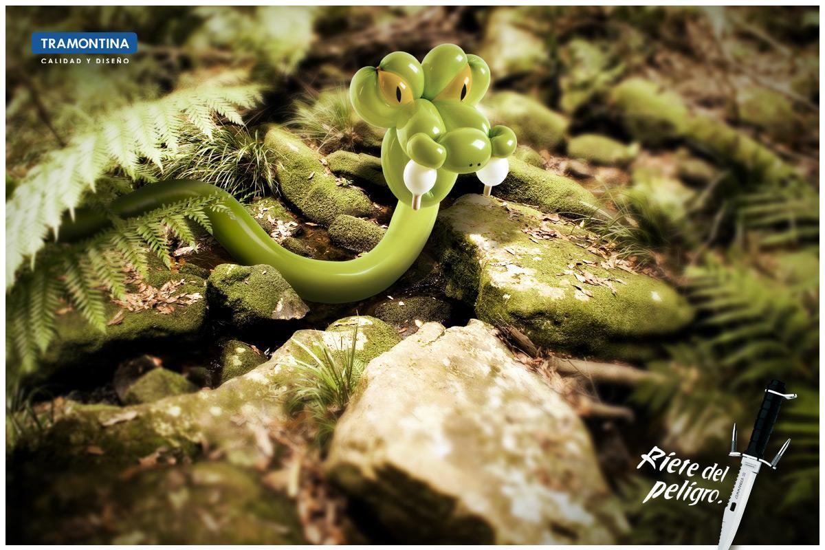 Tramontina Print Ad -  Snake
