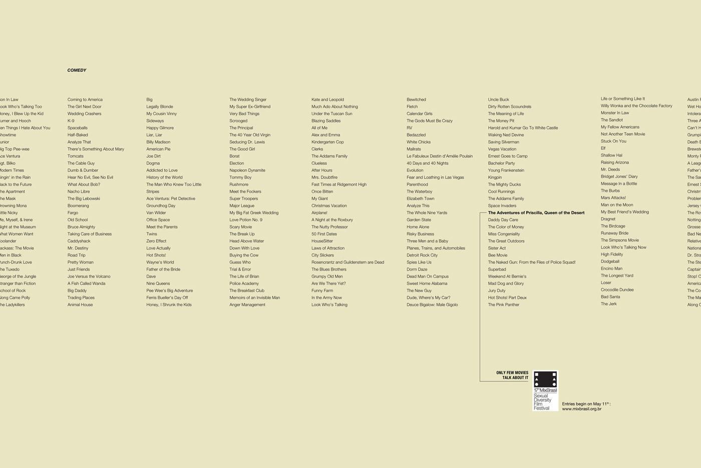 Mix Brasil Print Ad -  Comedy
