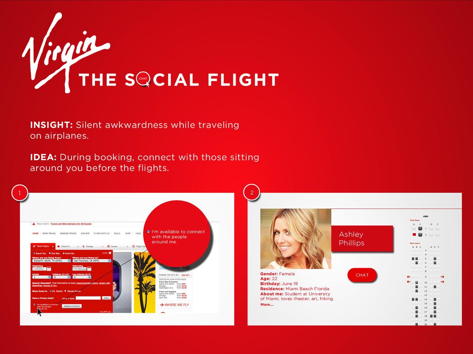 Virgin Digital Ad -  The Social Flight
