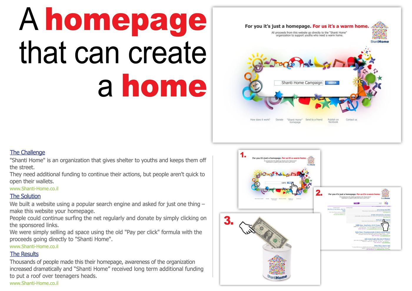 Shanti Home Digital Ad -  Home Page