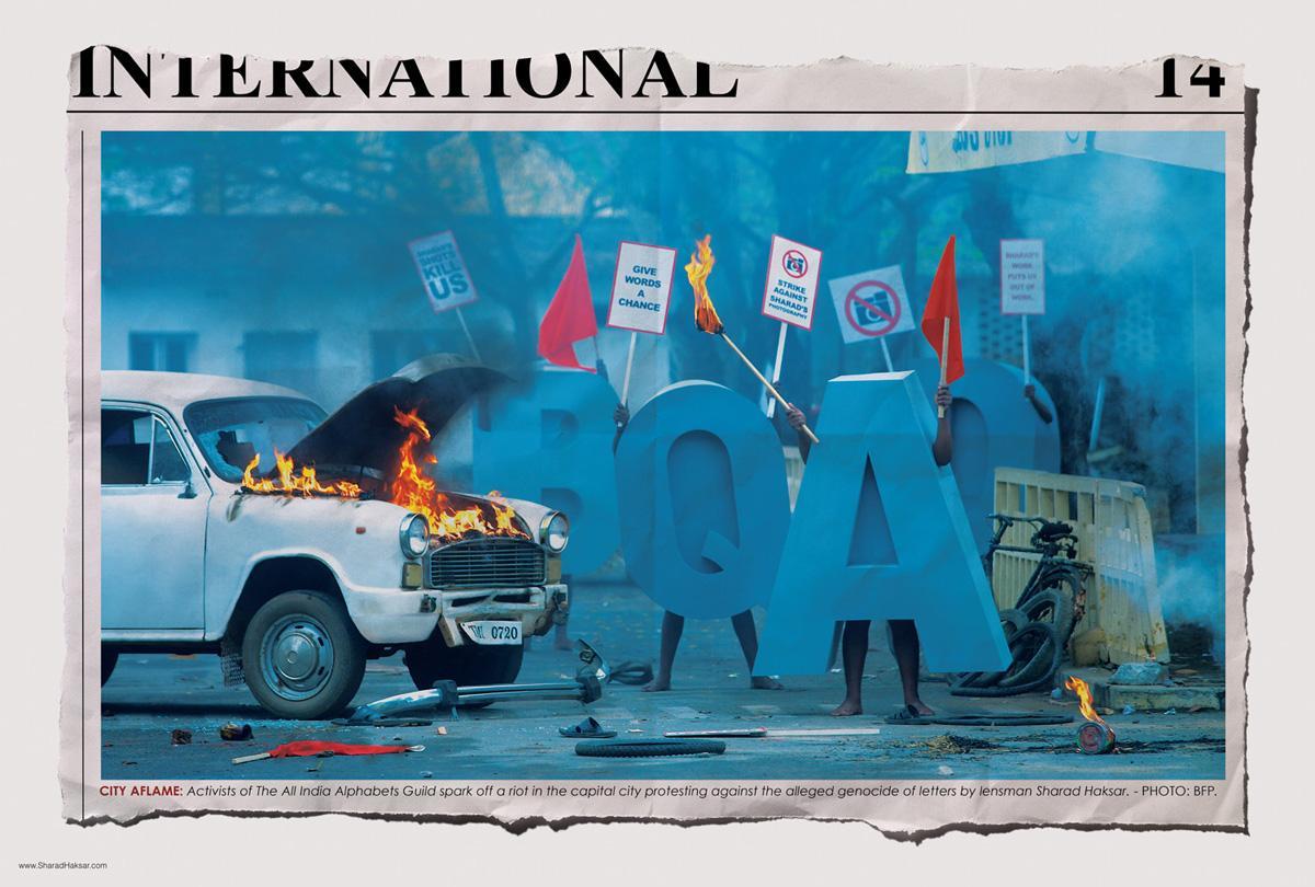 Sharad Haksar Print Ad -  Activists