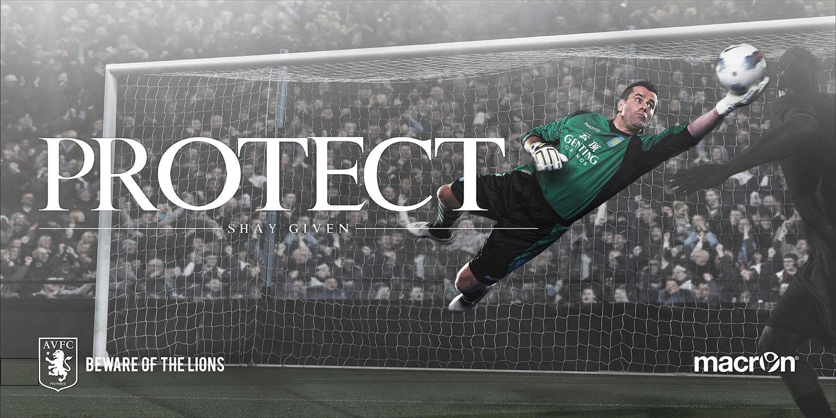 Aston Villa FC Outdoor Ad -  Beware Of The Lions, 6