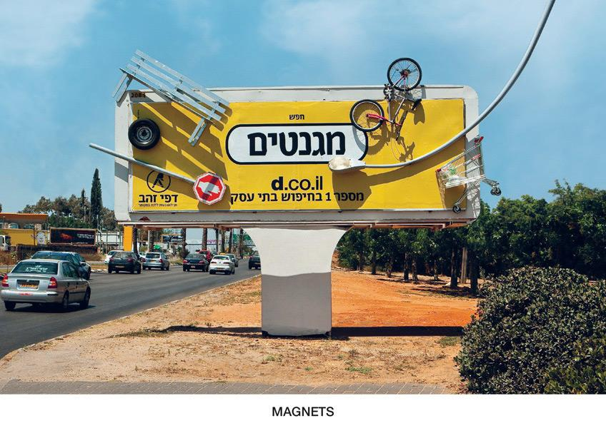 Yellow Pages Outdoor Ad -  Magnets
