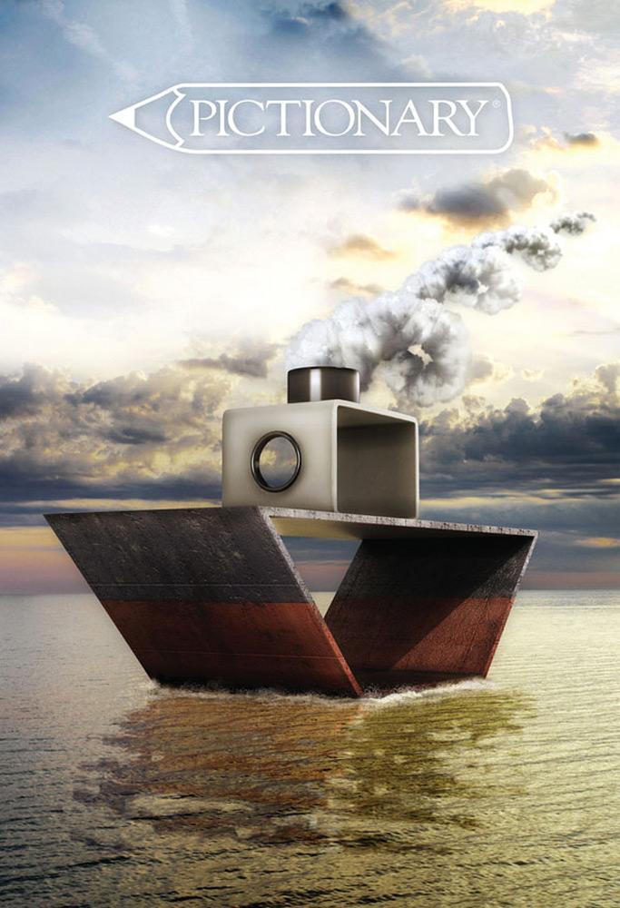 Pictionary Print Ad -  Ship