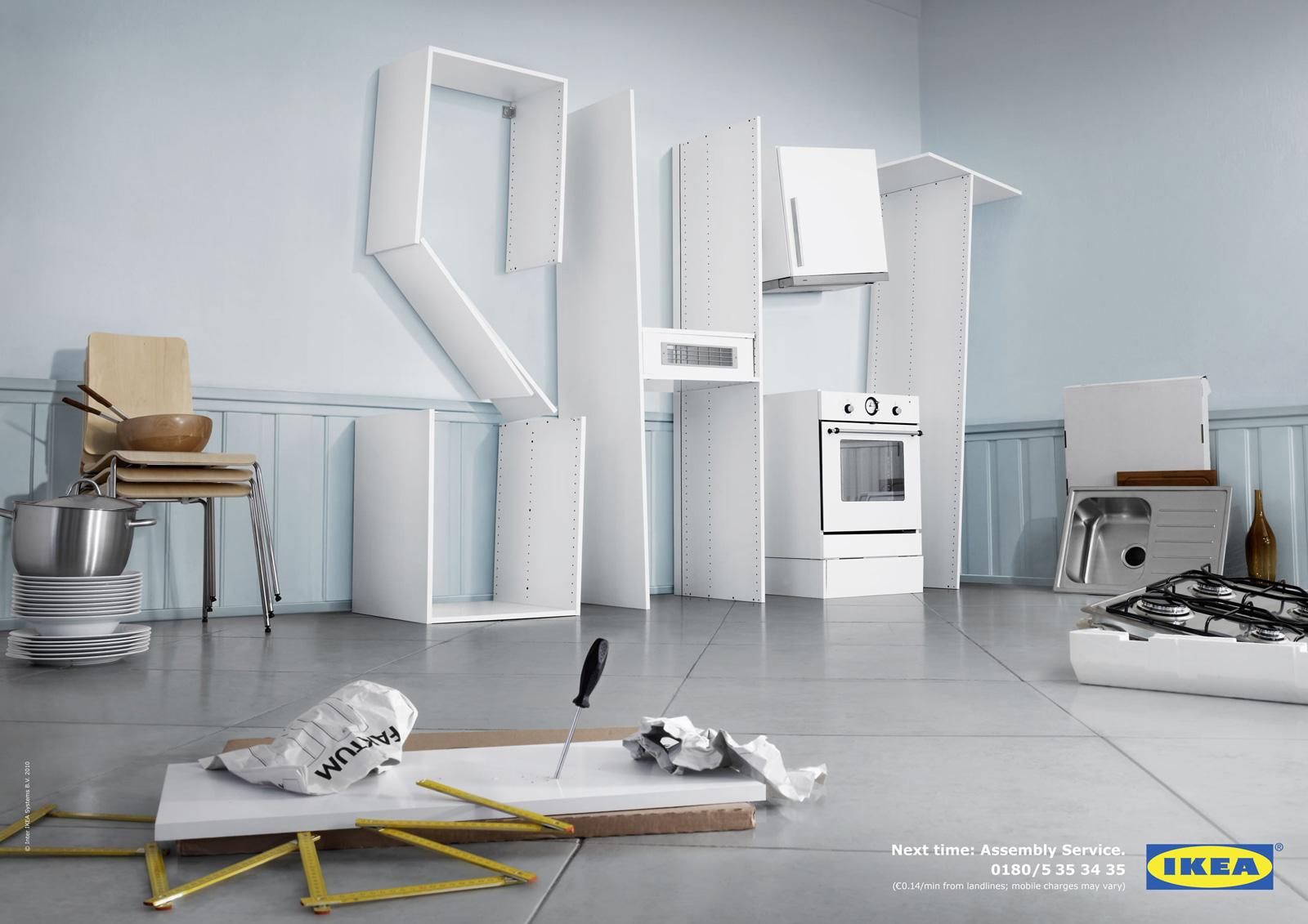 IKEA Print Advert By Grabarz Partner Kitchen Shit Ads Of The - Kitchen ad