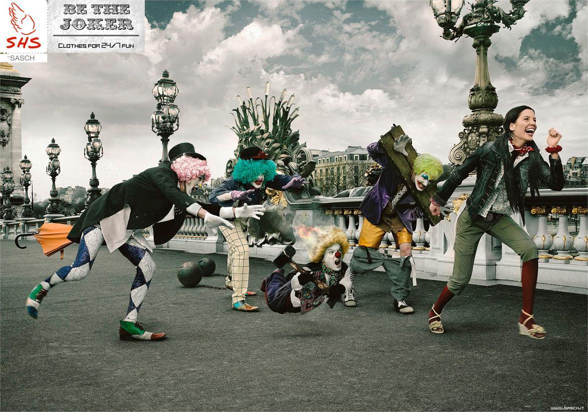 SHS Print Ad -  Be the Joker, 1