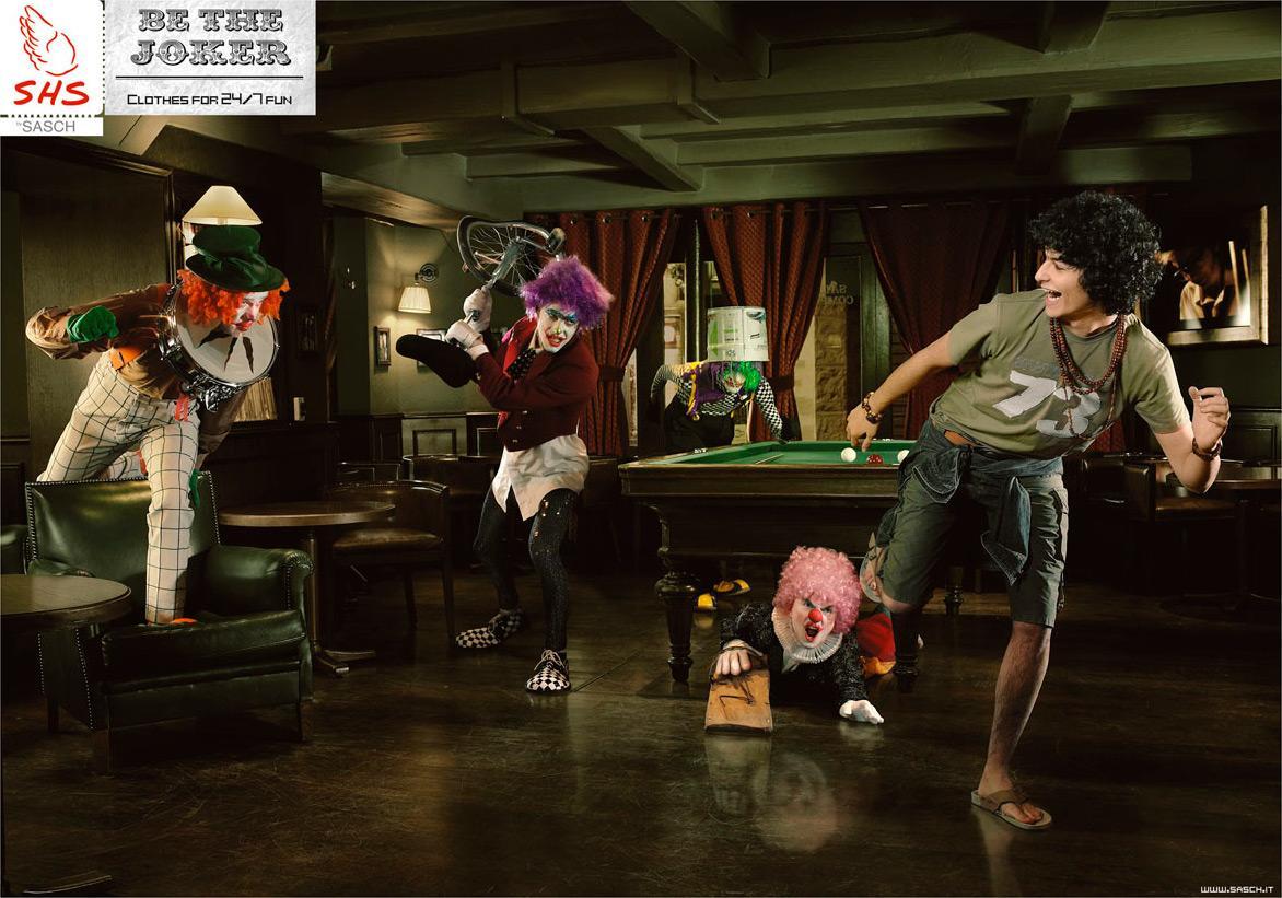 SHS Print Ad -  Be the Joker, 2