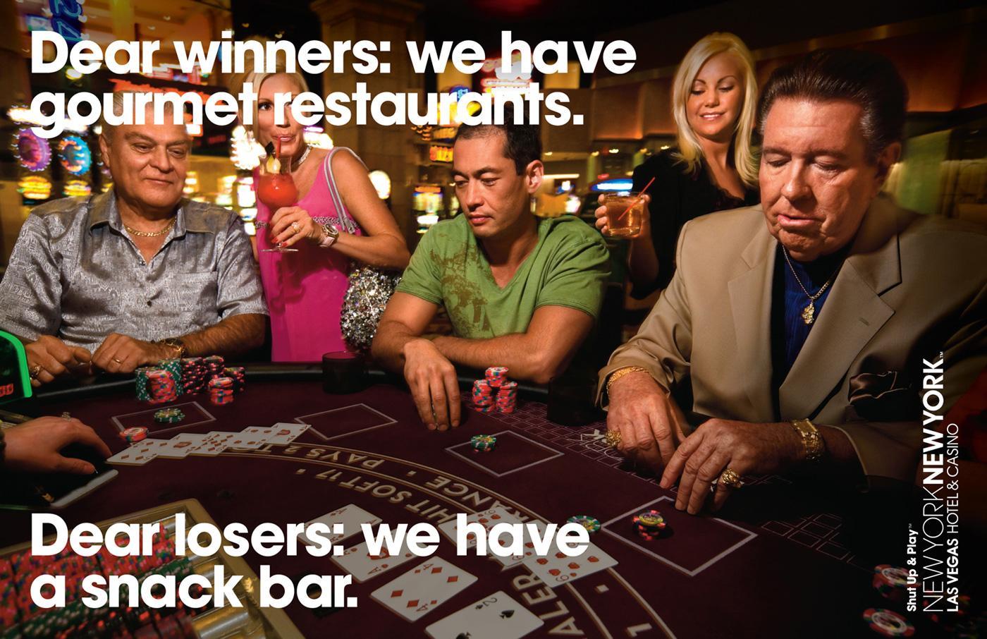 New York-New York Hotel & Casino Print Ad -  Poker