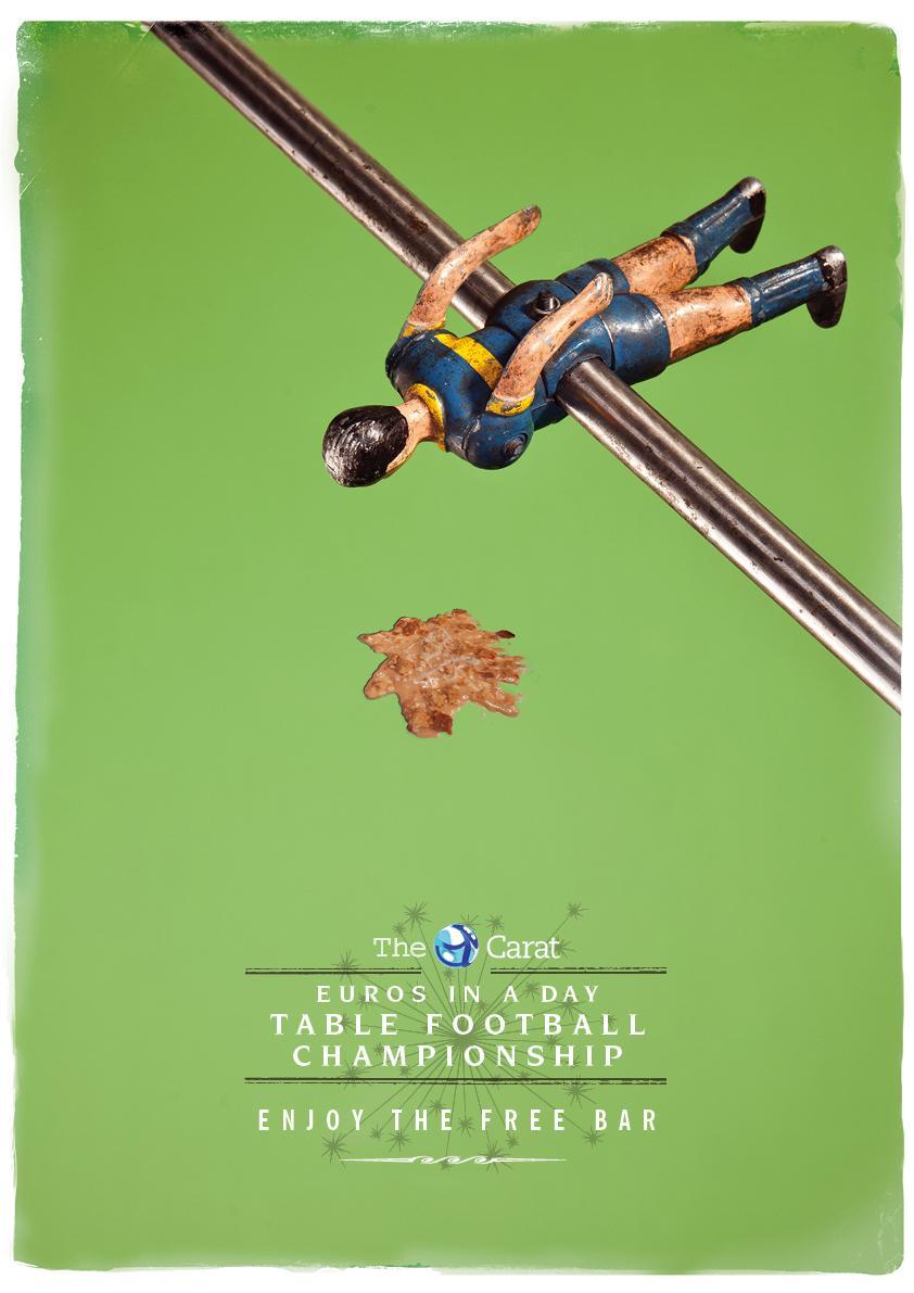 The Carat Print Ad -  Sick
