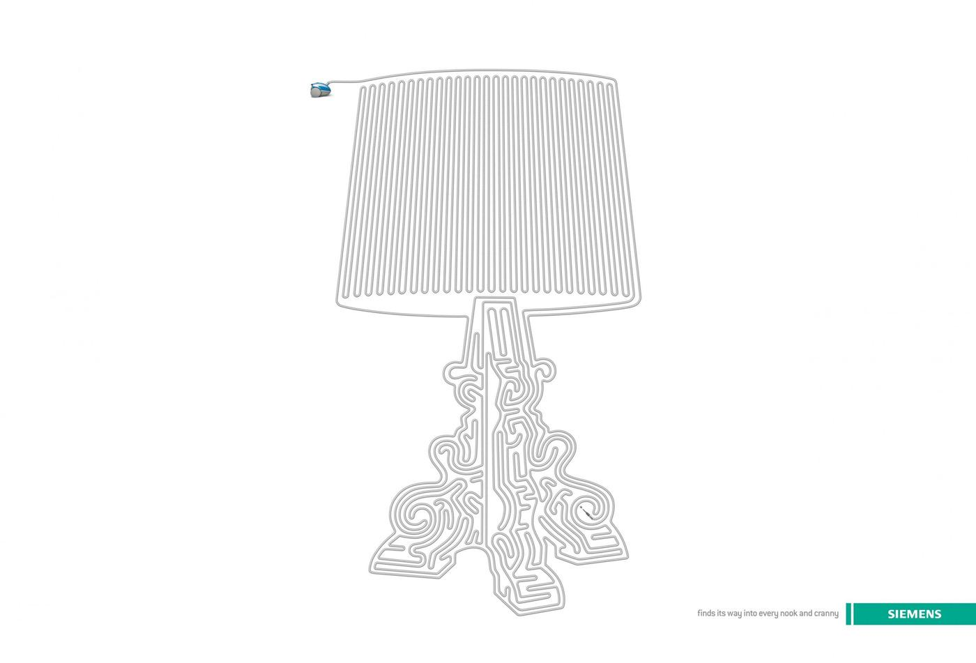 Siemens Print Ad -  Lamp