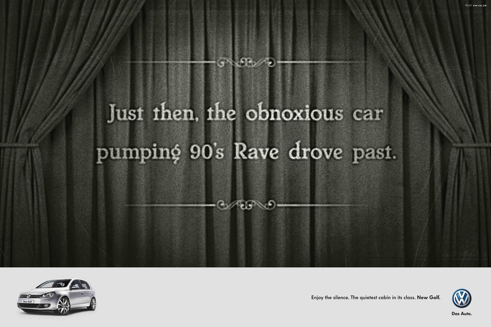 Volkswagen Print Ad -  Rave