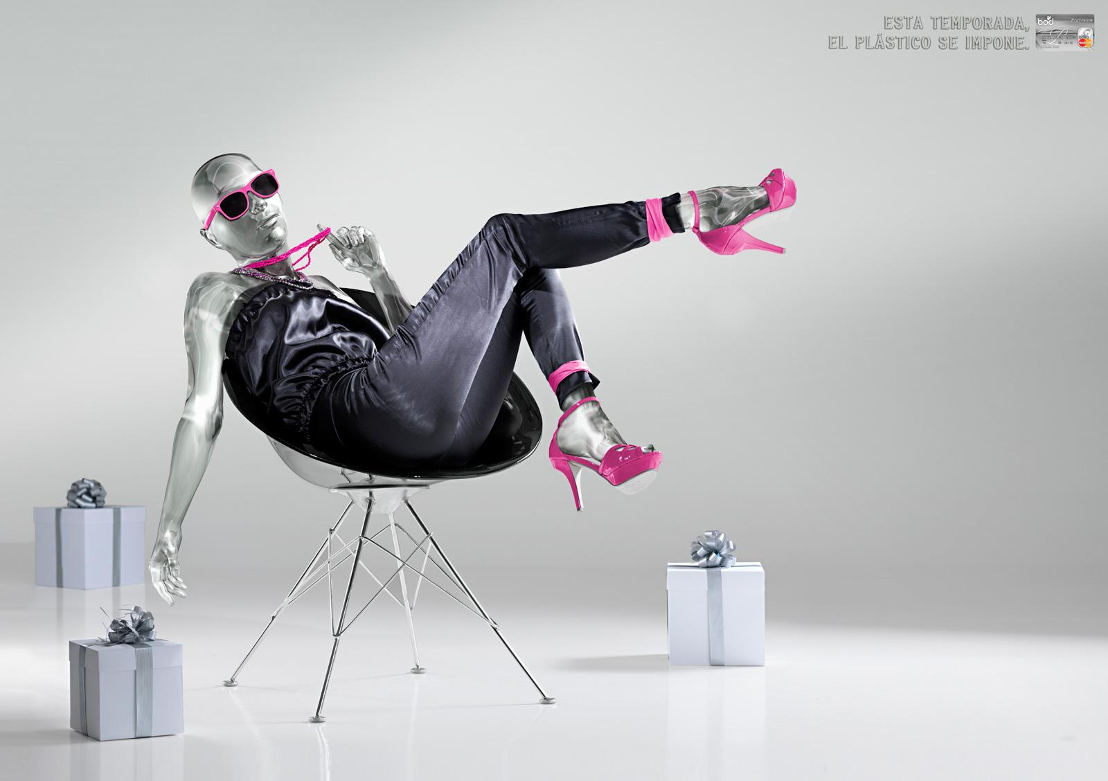 Banco Occidental De Descuento Print Ad -  Plastic, Chair