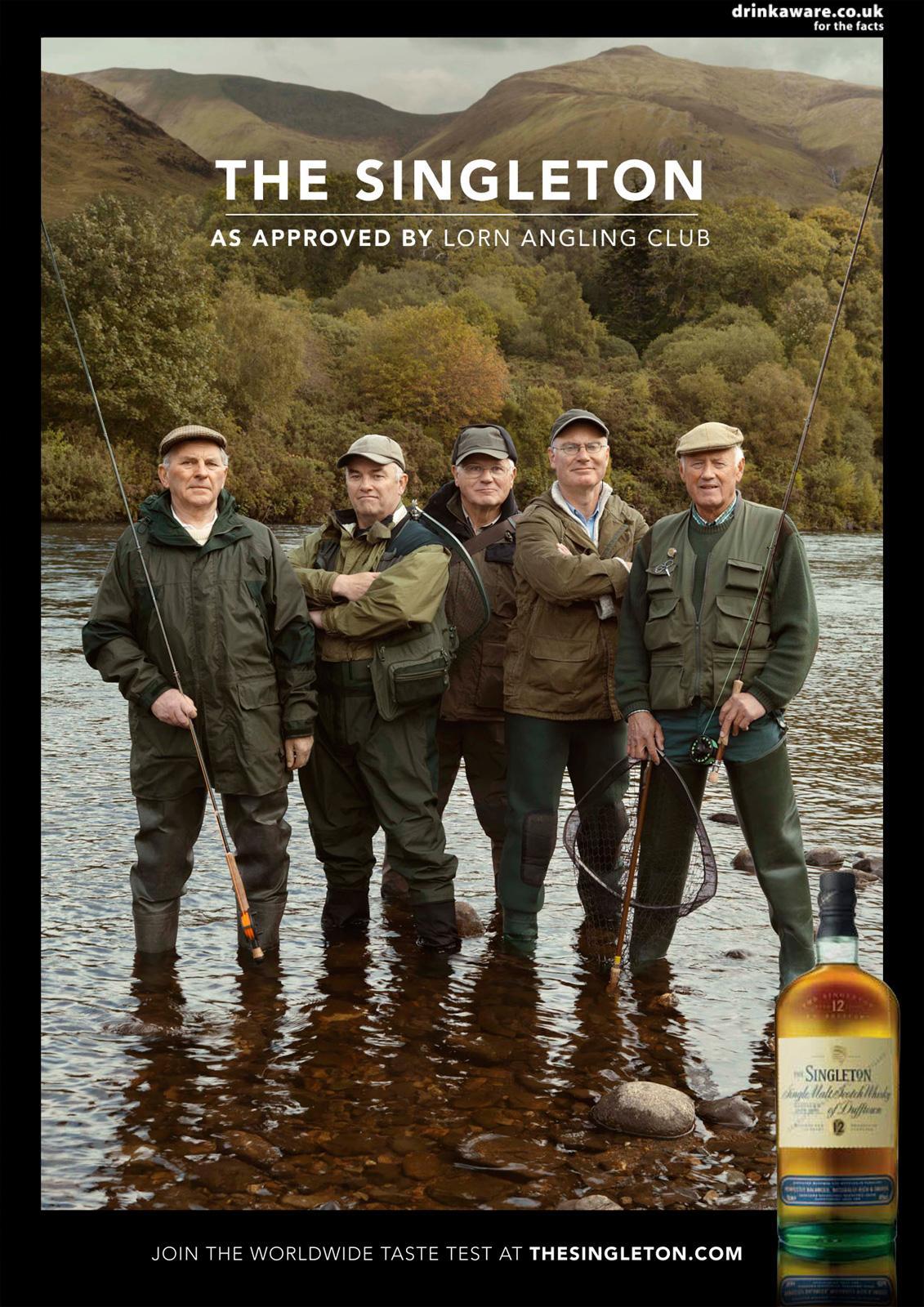 The Singleton Print Ad -  Lorn Angling Club