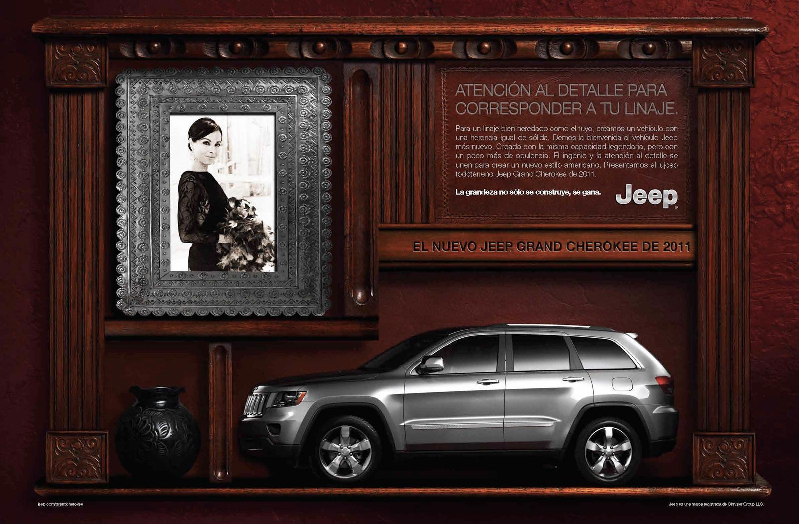 Jeep Print Ad -  Greatness, 3