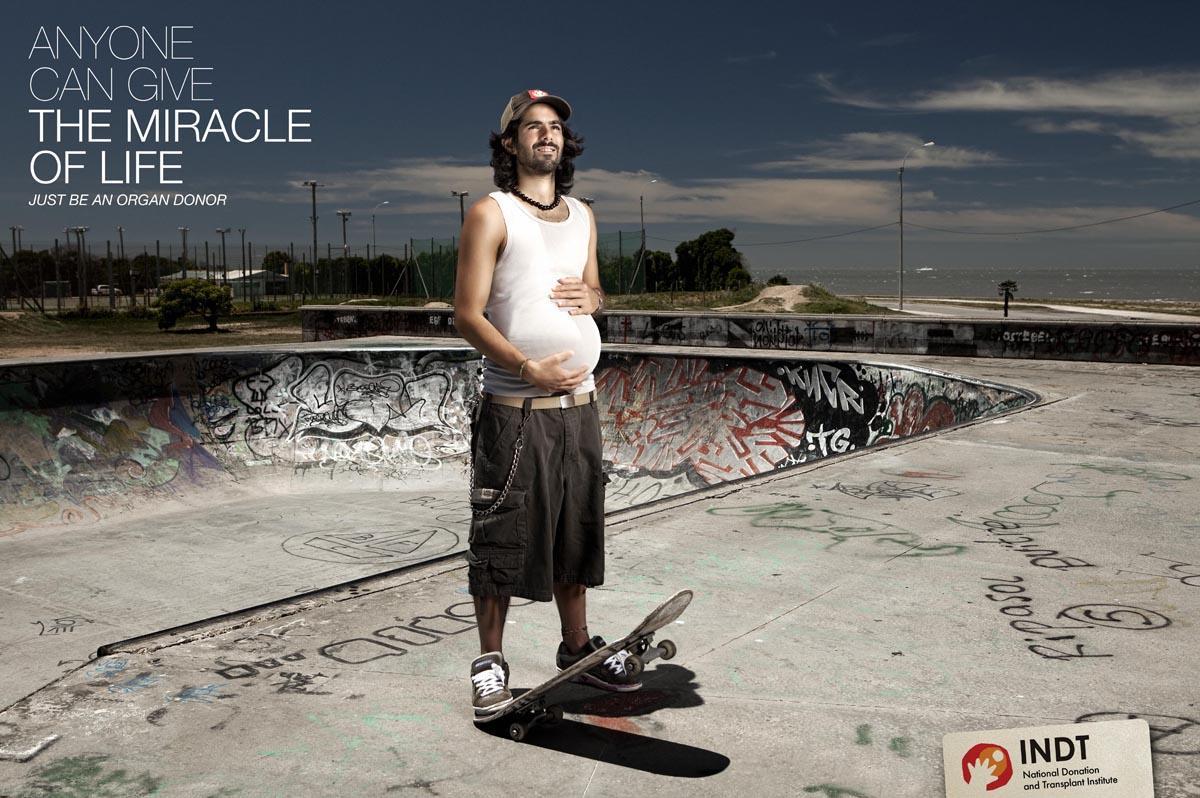 INDT Print Ad -  Skater