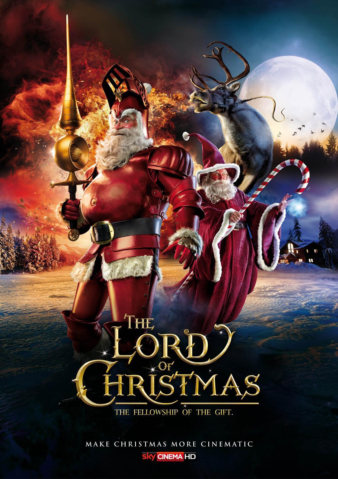 SKY Print Ad -  The Lord of Christmas