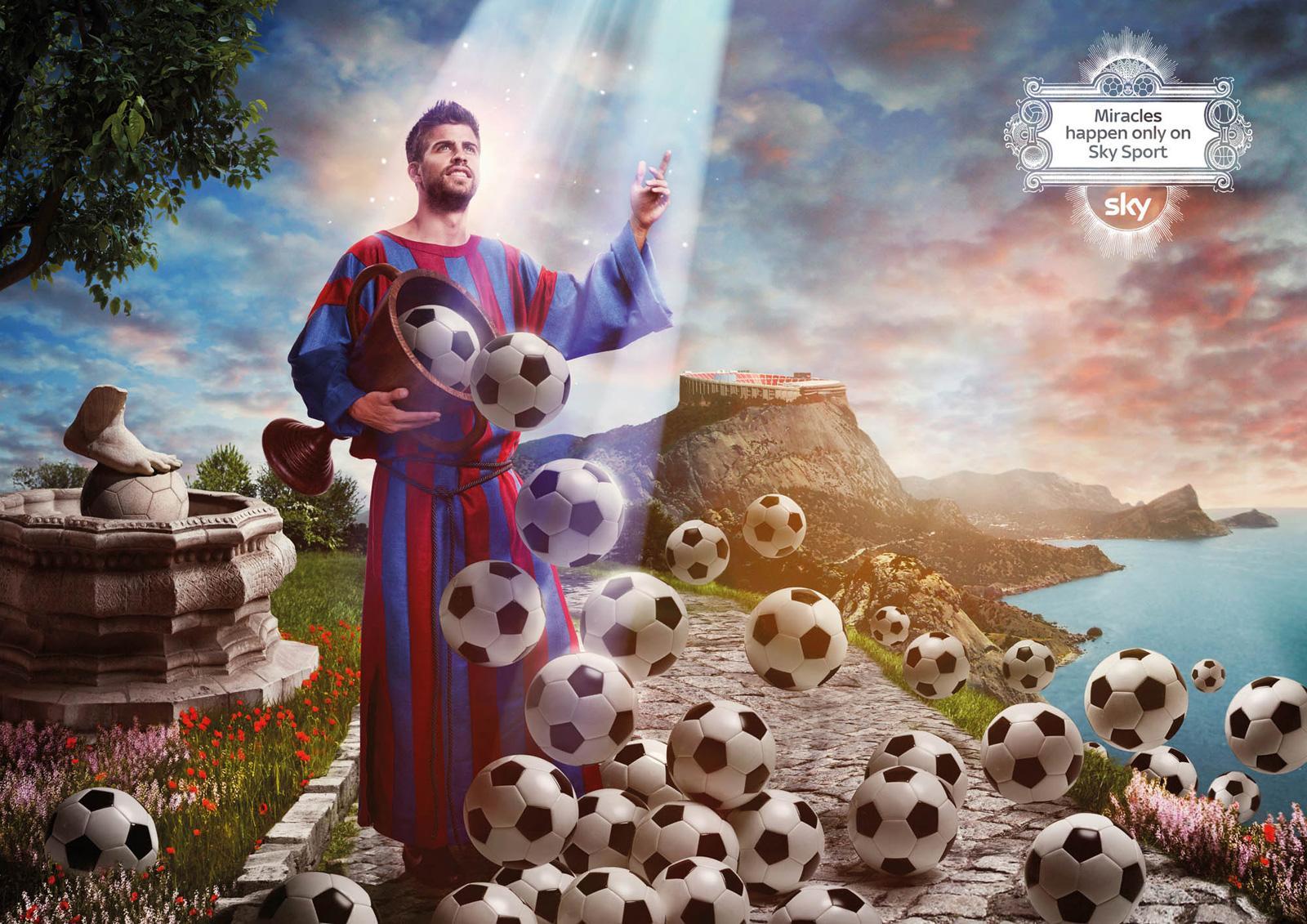 SKY Print Ad -  Miracles, Pique