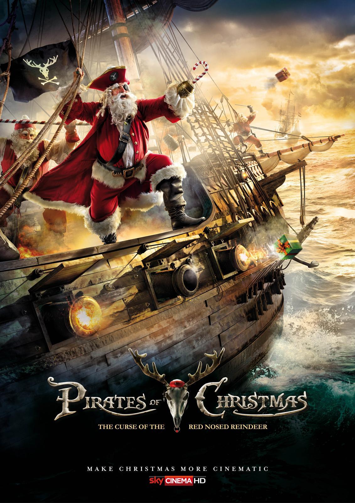 SKY Print Ad -  Pirates of Christmas