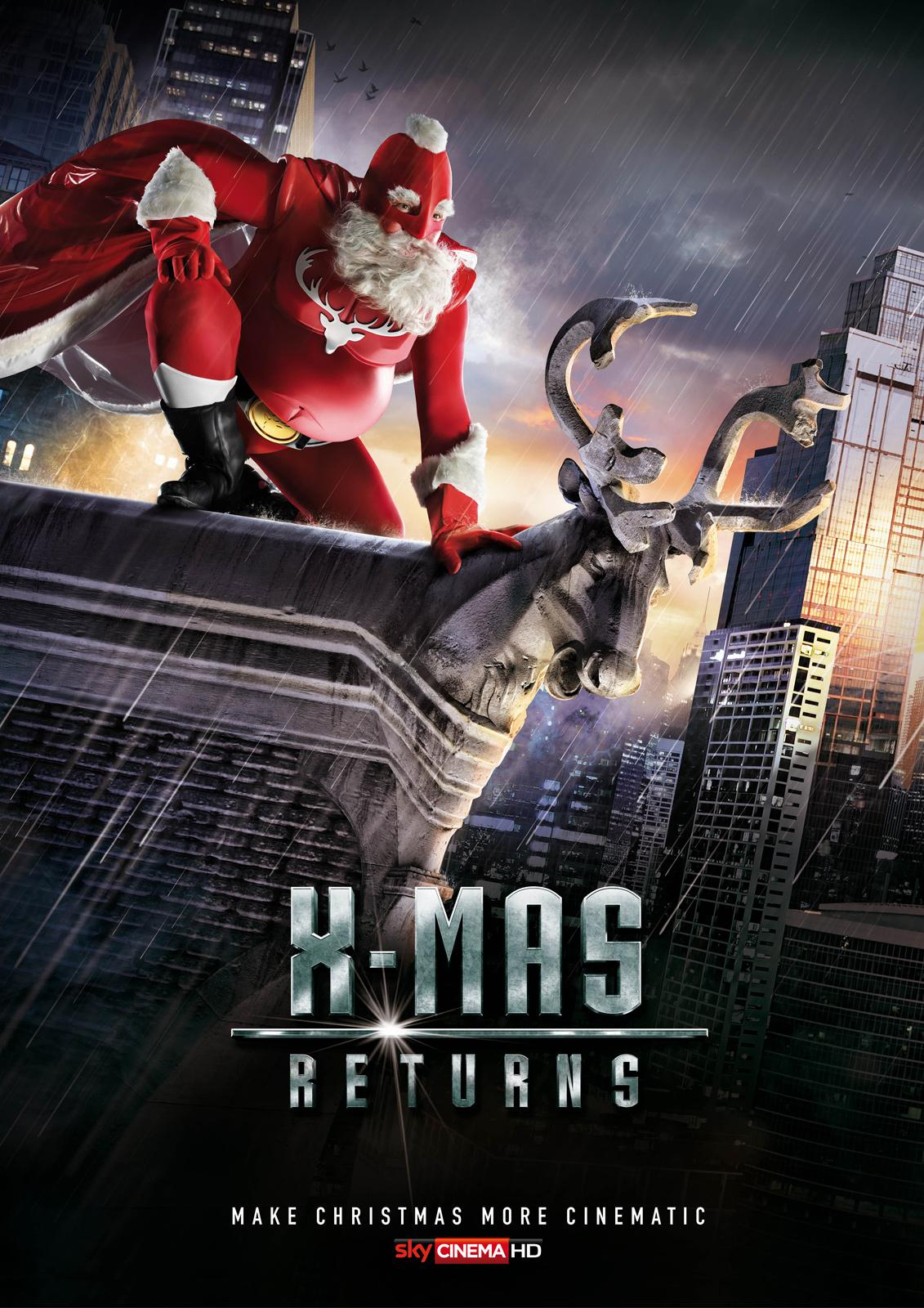 SKY Print Ad -  X-Mas Returns
