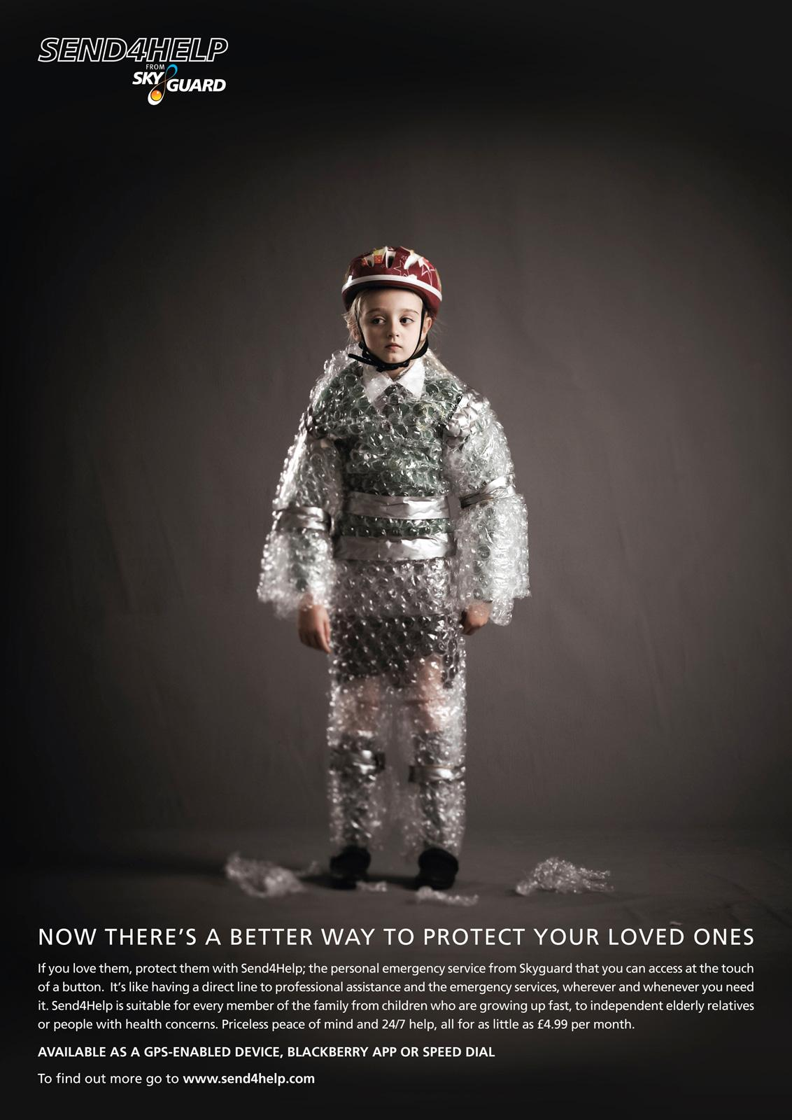 Skyguard Print Ad -  Child