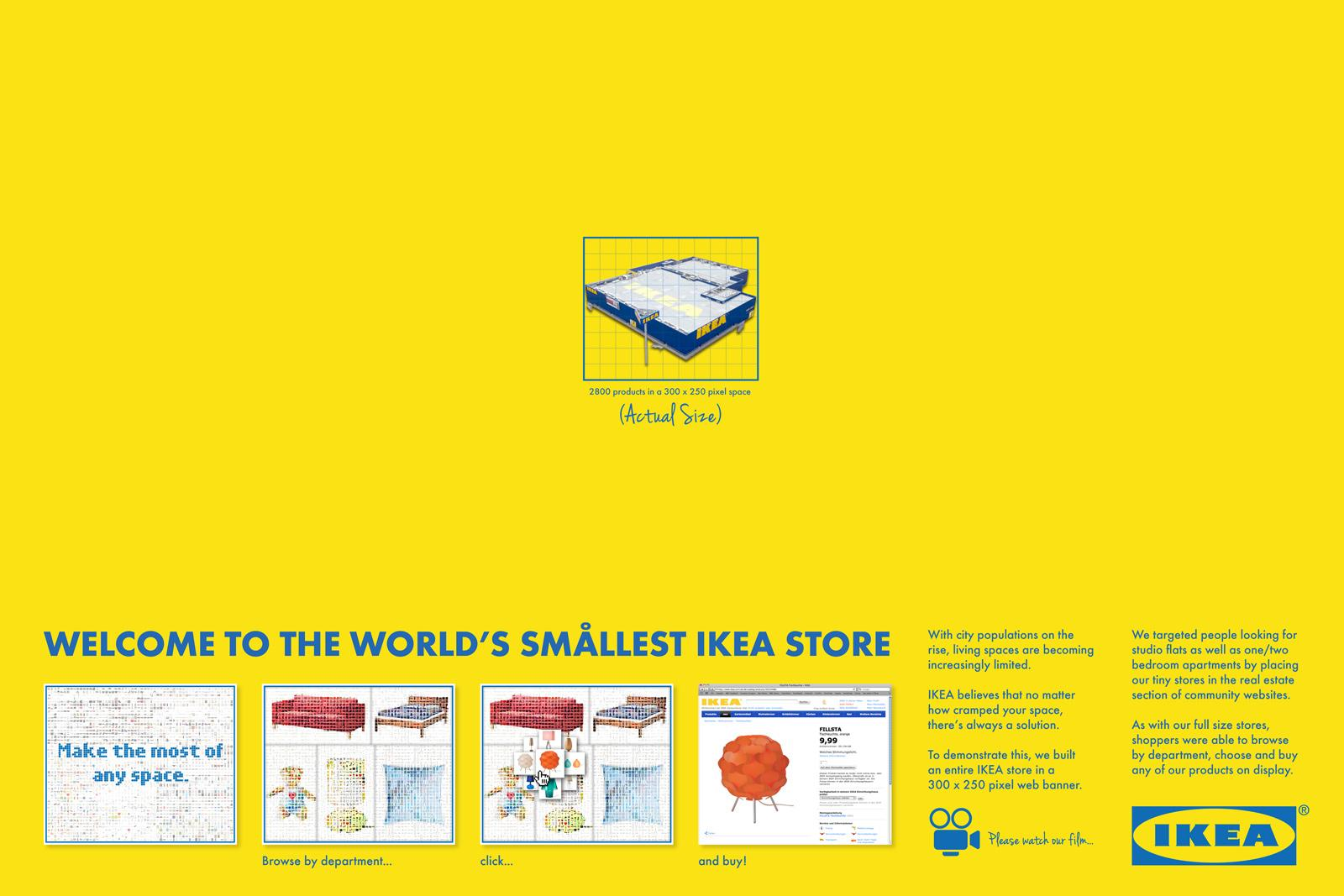 IKEA Digital Ad -  Smallest store in the World