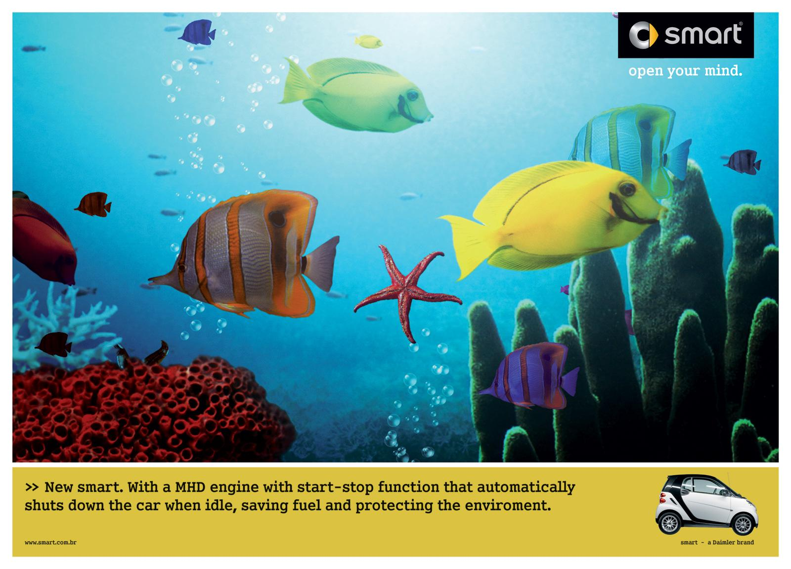 Smart Print Ad -  Screensaver Fish