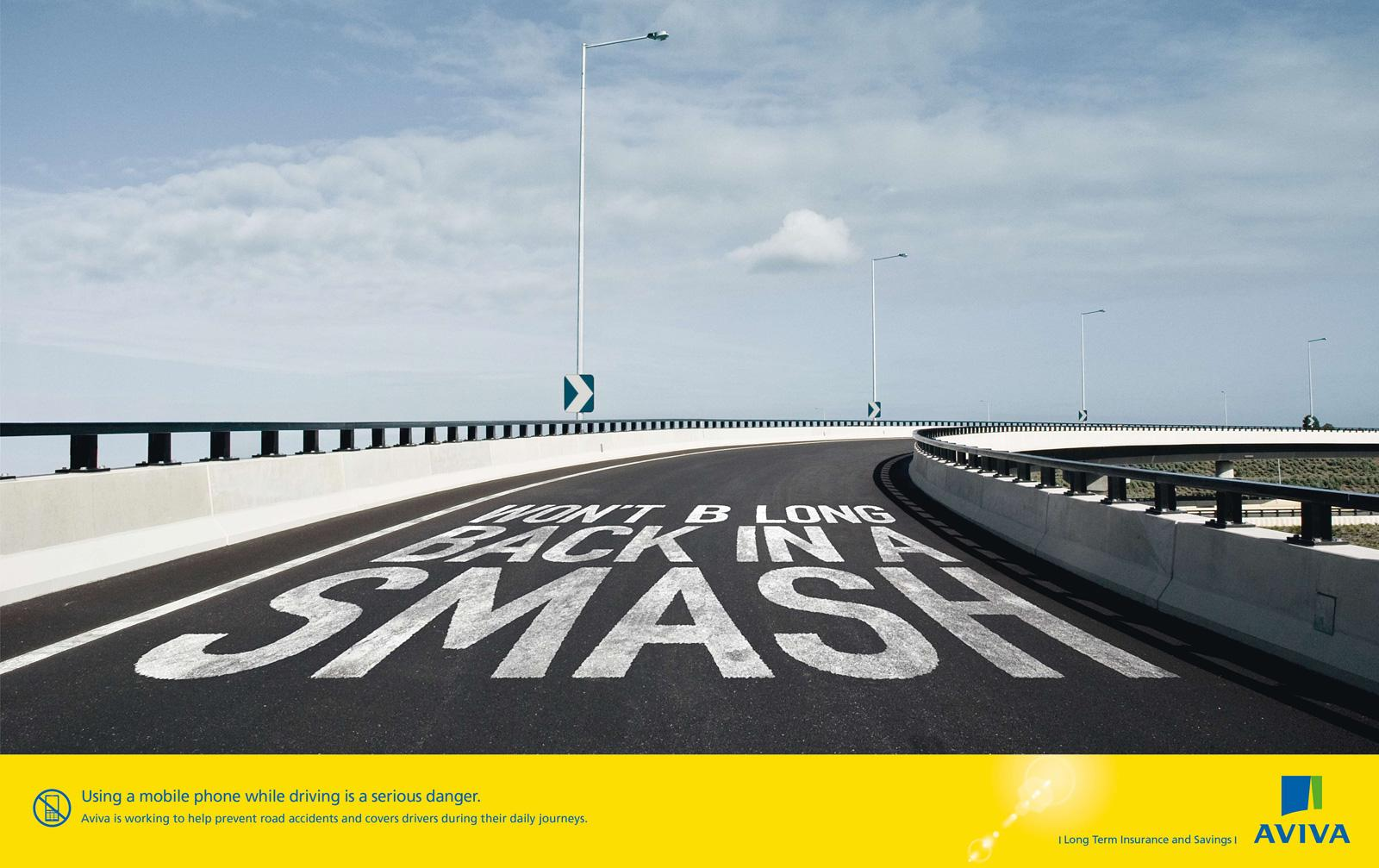AVIVA Print Ad -  Smash
