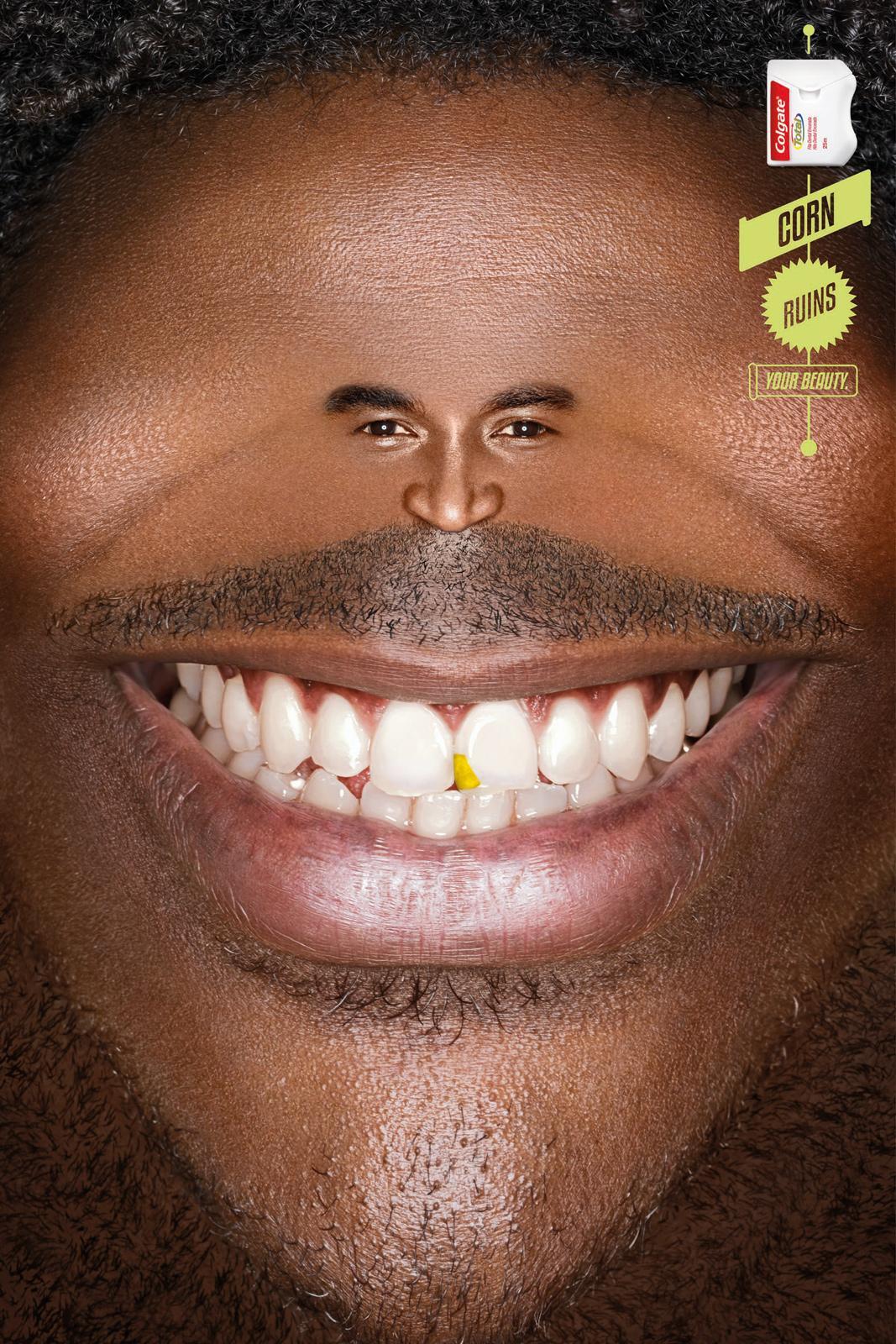 Colgate Print Ad -  Smile, 1