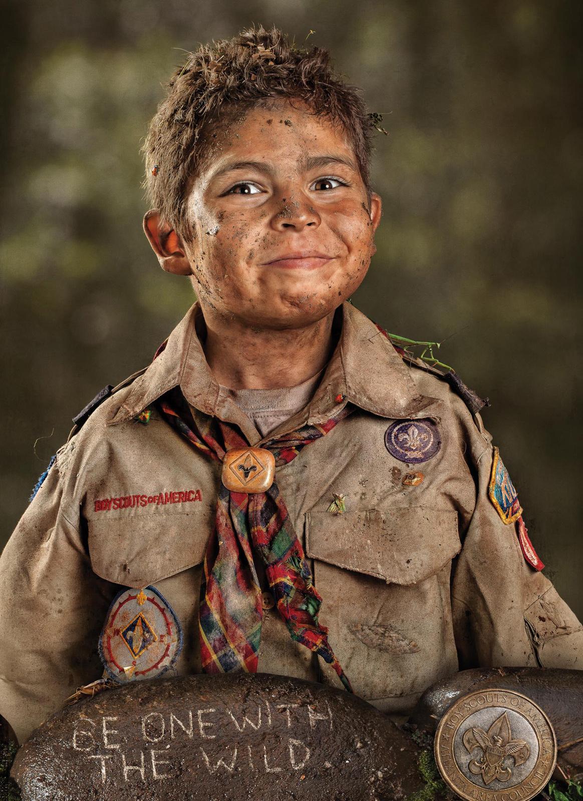 Boy Scouts Print Ad -  Smiles