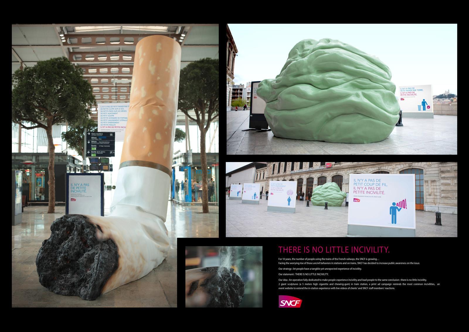 SNCF Webradio Ambient Ad -  Incivility