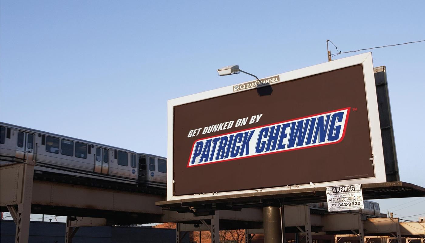 Snickers Outdoor Ad -  Patrick