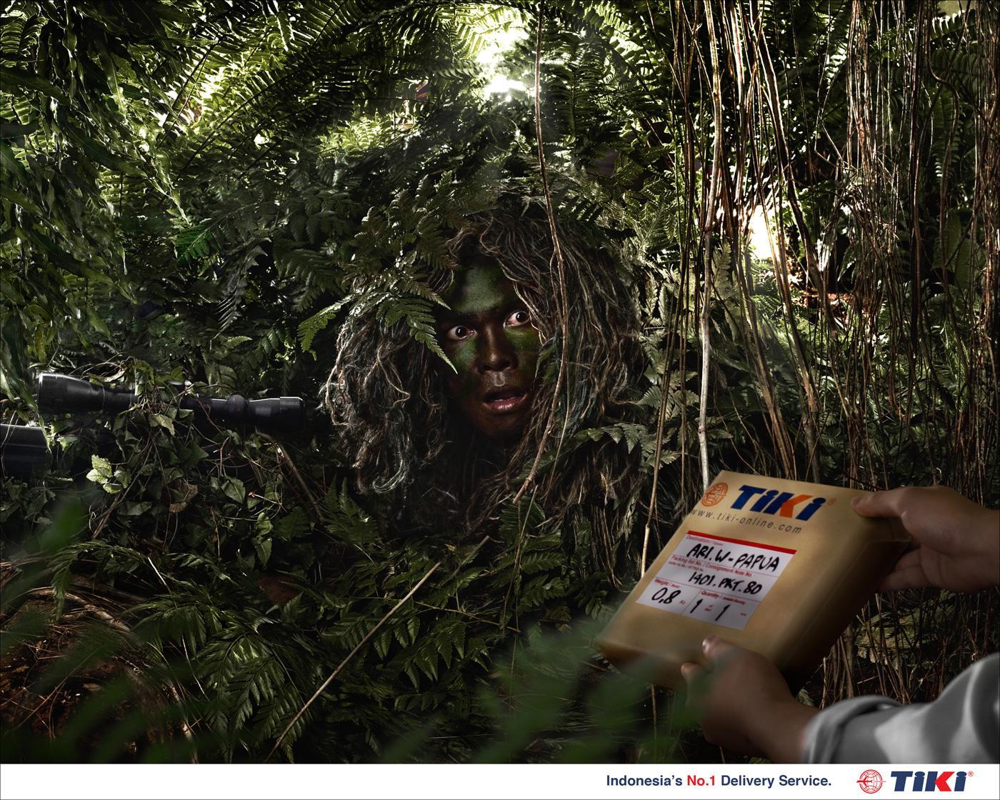 Tiki Print Ad -  Sniper