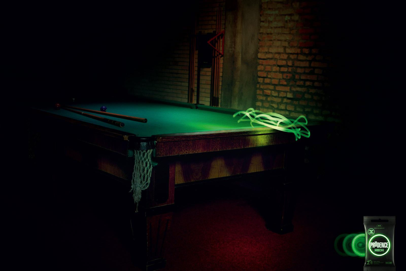 Prudence Print Ad -  Snooker