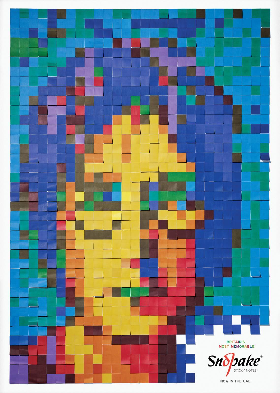 Snopake Print Ad -  Lennon