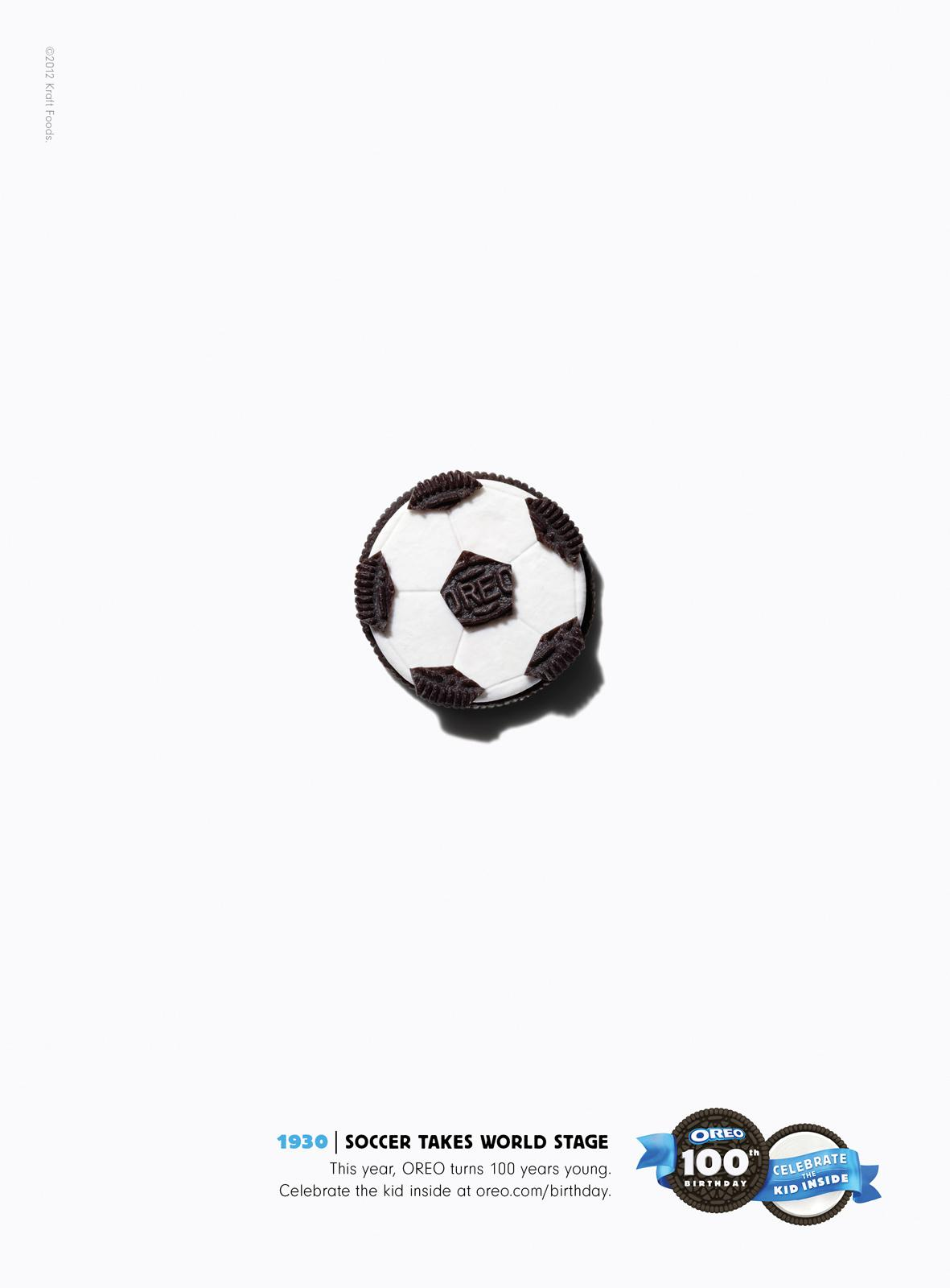 oreo print advert by fcb soccer ads of the world