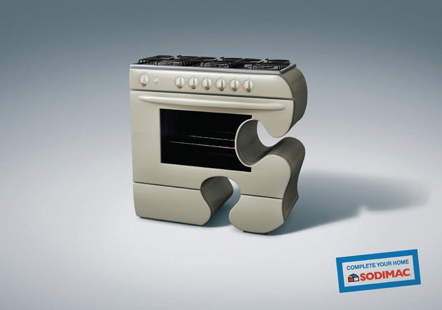 Sodimac Print Ad -  Puzzle piece, 5