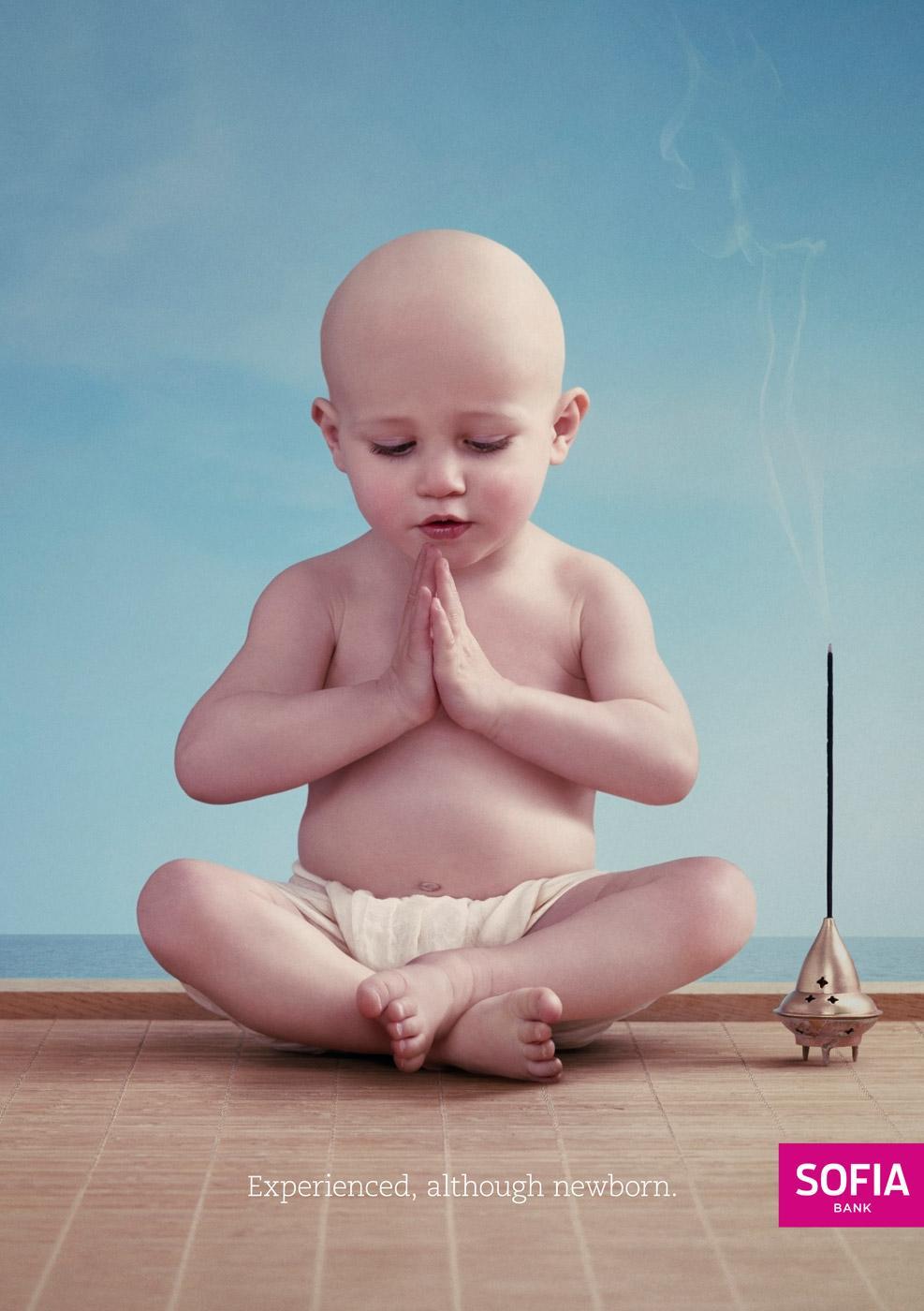 Sofia Bank Print Ad -  Baby, 1