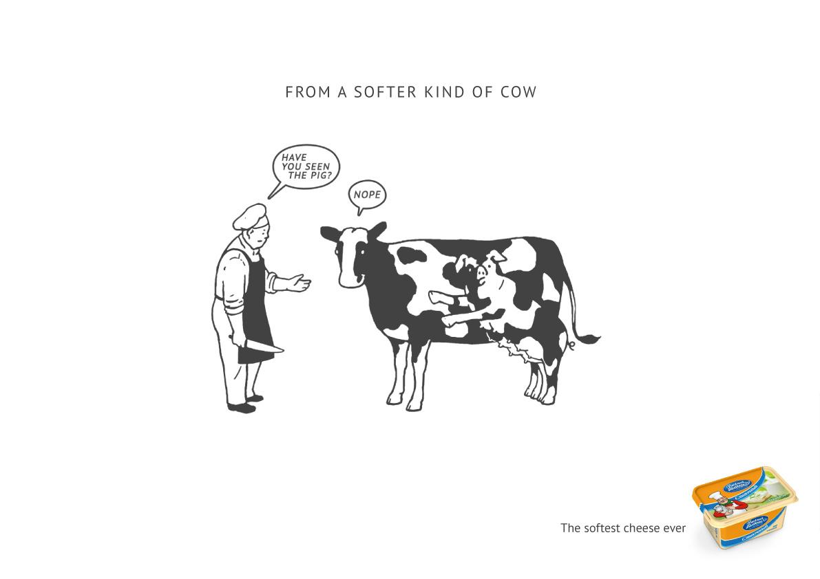 Vimm-Bill-Dann Print Ad -  Pig