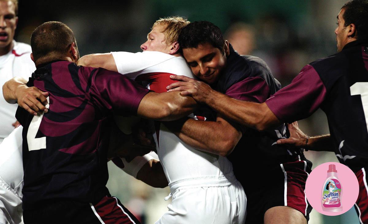 Softlan Print Ad -  Rugby